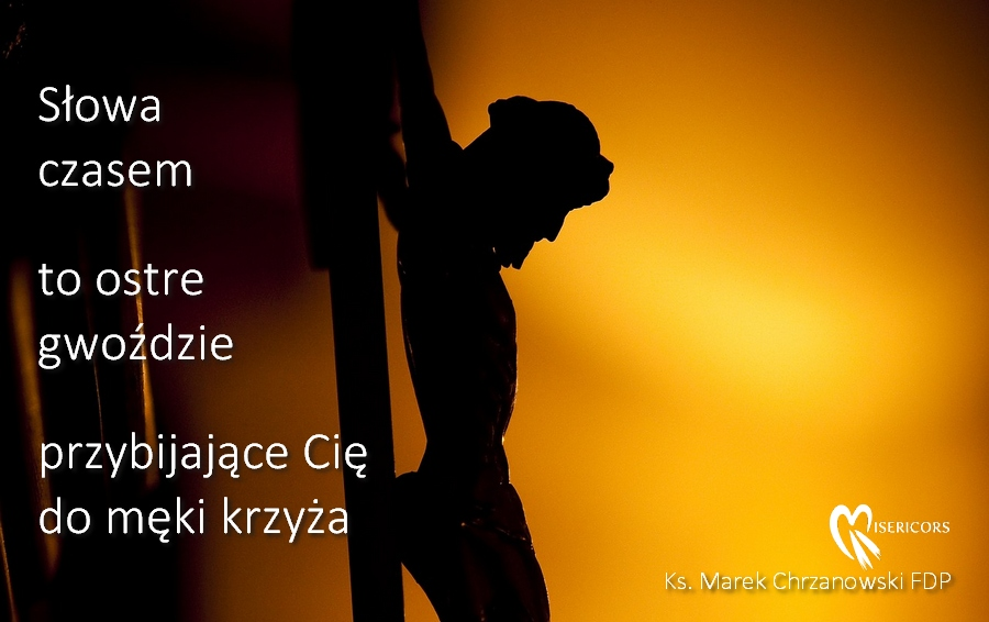 Słowa jak gwoździe... Ks. Marek Chrzanowski FDP