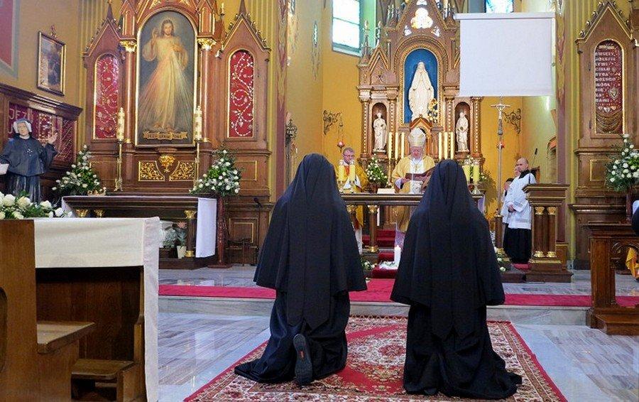 Śluby wieczyste w Zgromadzeniu Sióstr Matki Bożej Miłosierdzia, Kraków-Łagiewniki, 2 lutego 2017