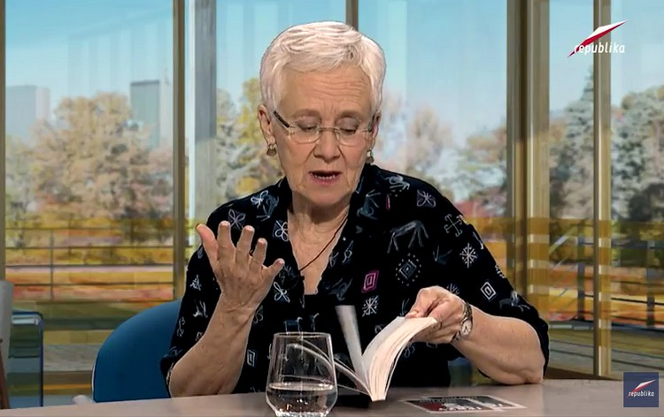 "Judith Kelly, autorka książki ""Just call me Jerzy"" o ks. Popiełuszce, w TV Republika"