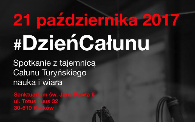 Dzień Całunu Turyńskiego w Krakowie – 21 października 2017