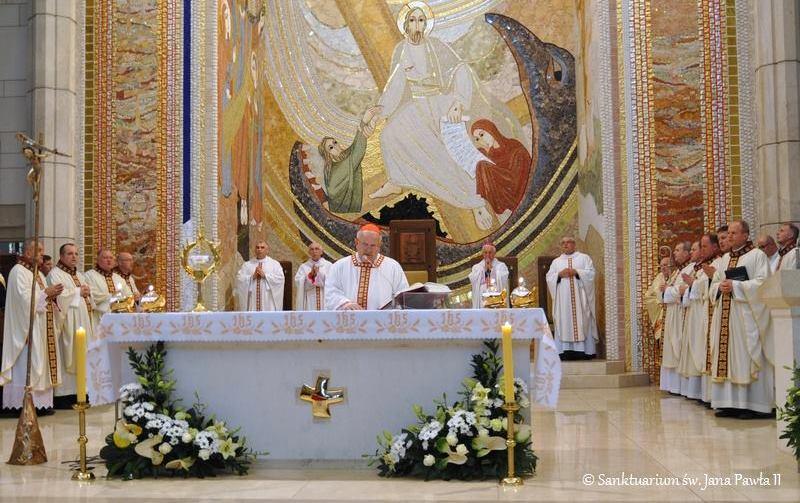 1. rocznica konsekracji kościoła w Sanktuarium św. Jana Pawła II w Krakowie – 16 października 2017