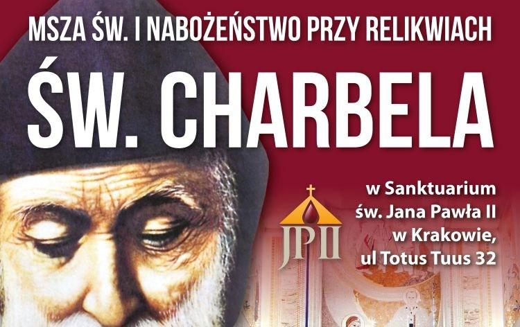 Nabożeństwo do św. Charbela w Sanktuarium św. Jana Pawła II w Krakowie
