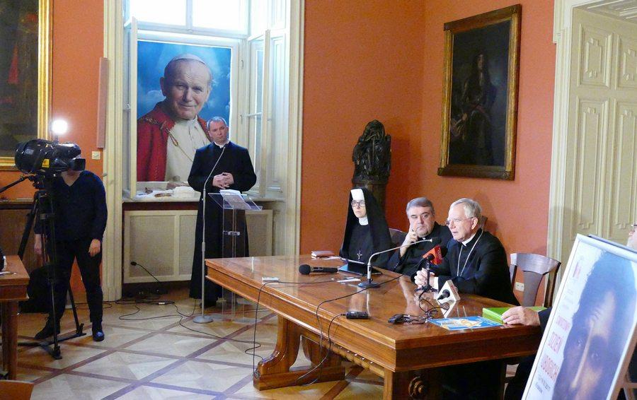 1. Światowy Dzień Ubogich w Archidiecezji Krakowskiej – Konferencja prasowa z udziałem abp. Marka Jędraszewskiego – 10 listopada 2017