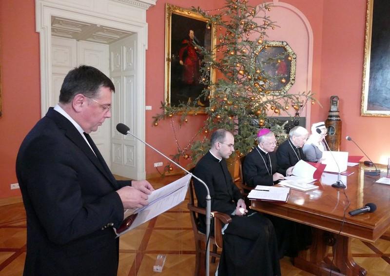 Beatyfikacja Hanny Chrzanowskiej - Konferencja prasowa w Krakowie - 18 stycznia 2018