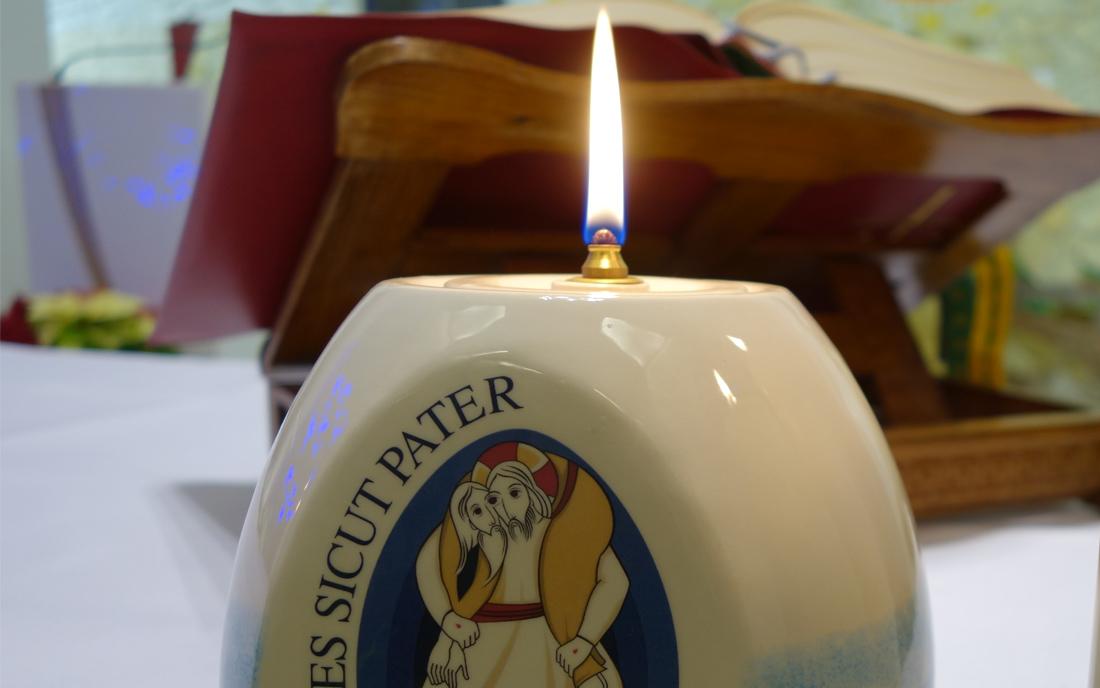 Rok Miłosierdzia świeca