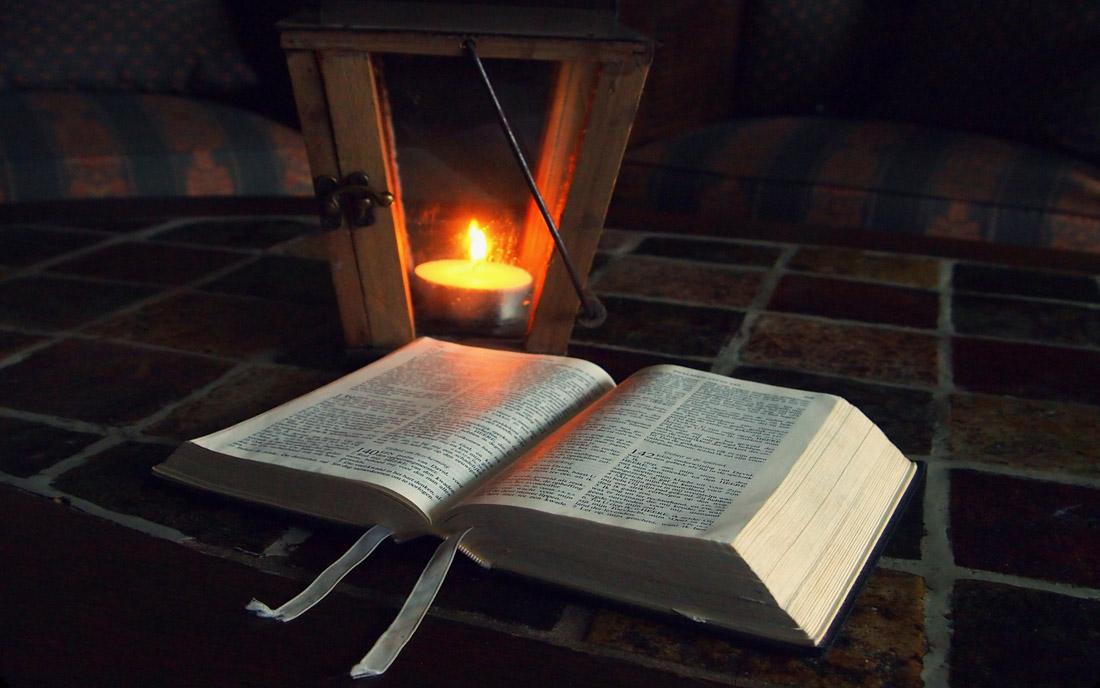 Biblia lampa