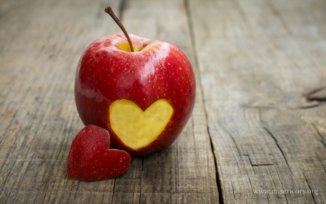 jabłko miłość