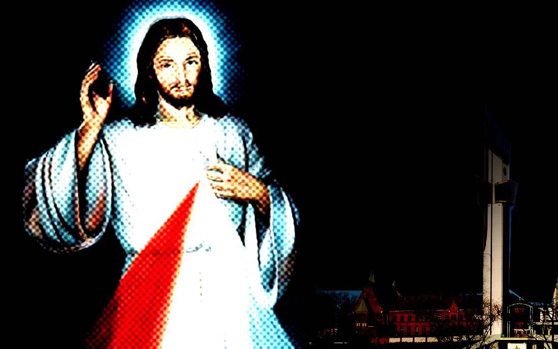 Jezus Miłosierny / Bazylika Bożego Miłosierdzia w Krakowie-Łagiewnikach