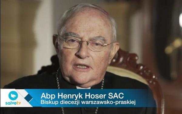 Abp Henryk Hoser SAC na Światowy Dzień Chorego