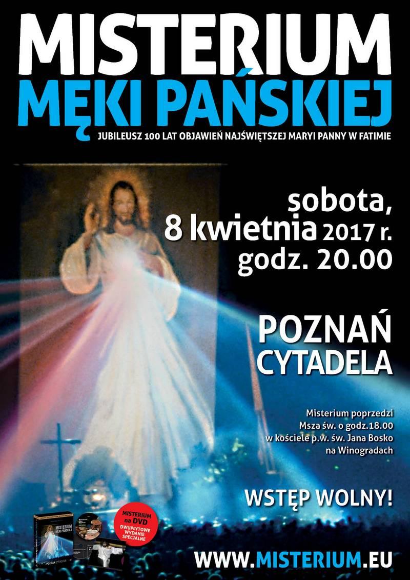 Misterium Męki Pańskiej Poznań 2017