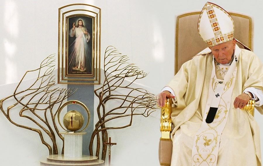 Św. Jan Paweł II w Łagiewnikach