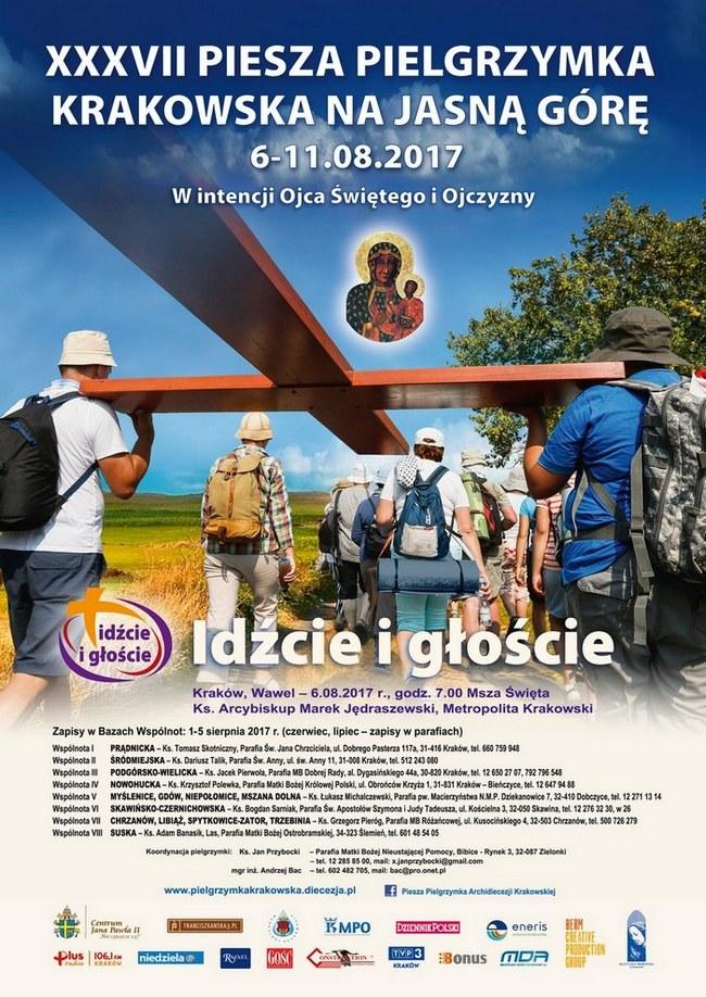 XXXVII Piesza Pielgrzymka Archidiecezji Krakowskiej z Wawelu na Jasną Górę