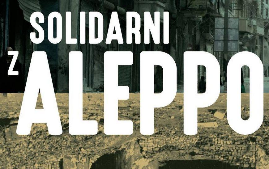 Solidarni z Aleppo - kwesta i koncert w Krakowie - Lipiec 2017