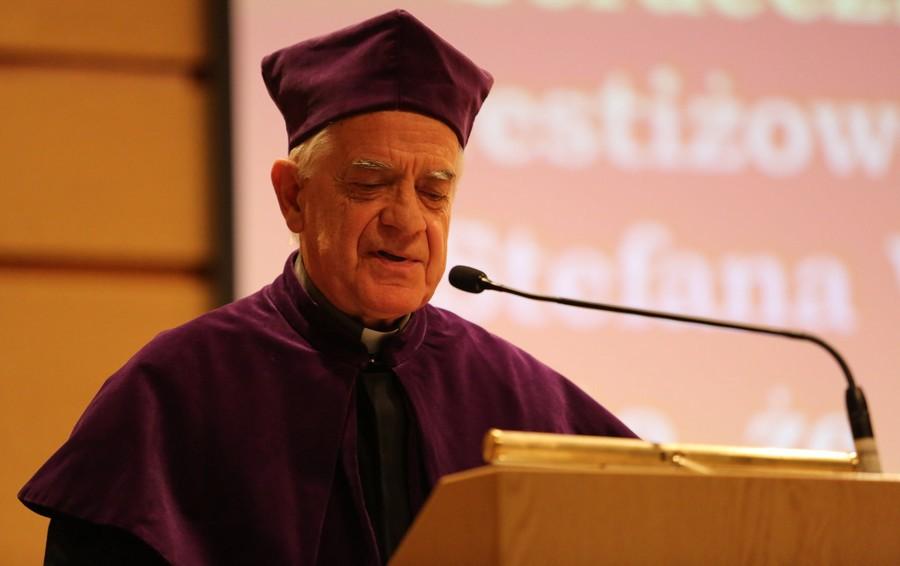 Wykład o. Federico Lombardiego SJ wygłoszony z okazji nadania tytułu doktora honoris causa UKSW
