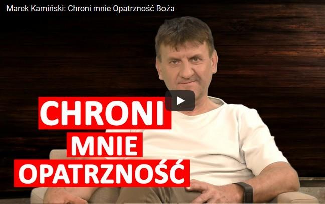 Marek Kamiński w Salve TV: Chroni mnie Opatrzność Boża