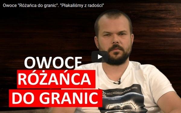 """""""Różaniec do granic""""- owoce i co dalej? – Maciej Bodasiński w Salve TV"""