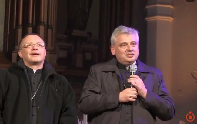 Abp Konrad Krajewski i abp Grzegorz Ryś na Uwielbieniowej Łódzi Ratunkowej - 27 października 2017