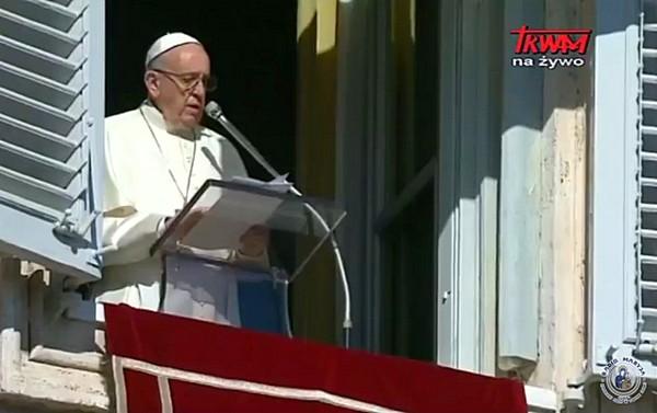 Wszystkich Świętych 2017 - Anioł Pański z papieżem Franciszkiem