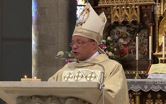 Ingres abpa Grzegorza Rysia w Łodzi - homilia