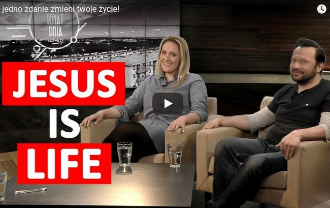 Jesus is Life - Marta Ławska i Piotr Chomicki w Salve TV
