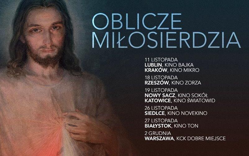 """""""Oblicze Miłosierdzia"""" na Festiwalu Filmów Chrześcijańskich"""