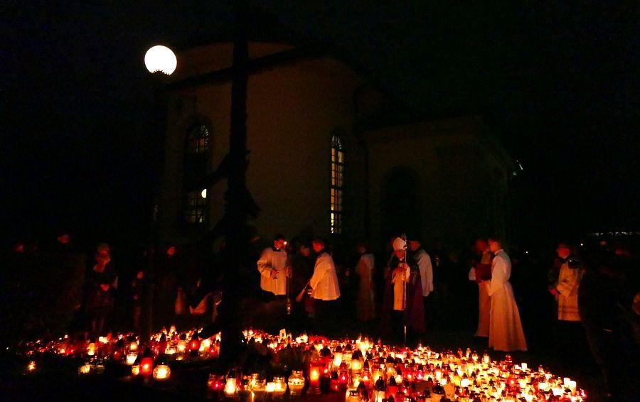 Wszystkich Świętych 2017 w Krakowie