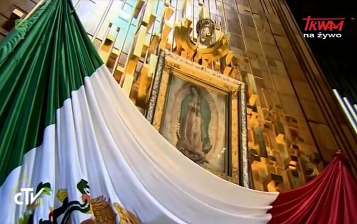 Homilia papieża Franciszka wygłoszona w bazylice Matki Bożej z Guadalupe