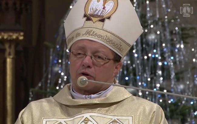 Pasterka w Archikatedrze Łódzkiej - Homilia abp. Grzegorza Rysia - 25 grudnia 2017