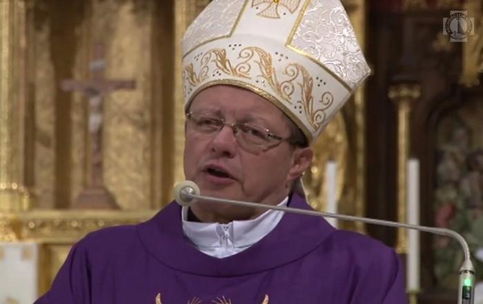 Wigilia Caritas w Łodzi - Homilia abp. Grzegorza Rysia - 23 grudnia 2017