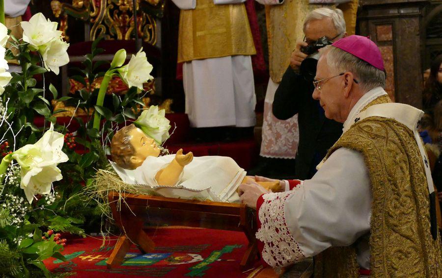 Pasterka 2017 w Katedrze Wawelskiej