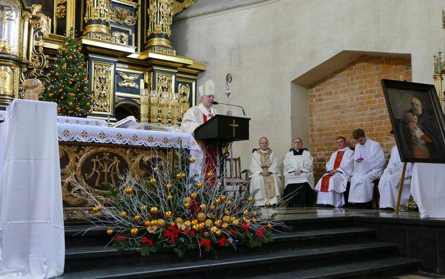 Zakończenie Roku św. Brata Alberta - Homilia abp. Marka Jędraszewskiego - 25 grudnia 2017