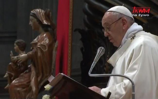 Uroczystość Bożej Rodzicielki Maryi w Watykanie - Homilia papieża Franciszka - 1 stycznia 2018