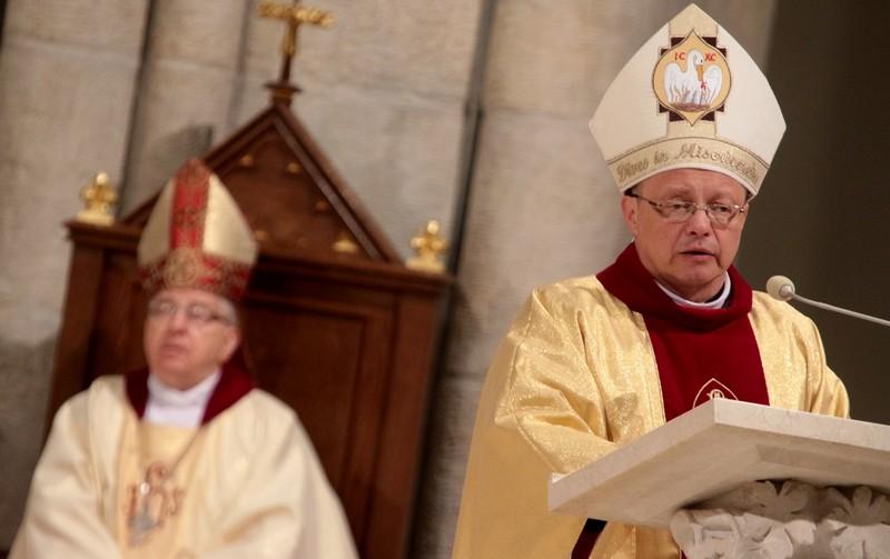 30-lecie sakry biskupiej ks. bpa Adama Lepy - Homilia abp. Grzegorza Rysia - 7 stycznia 2018