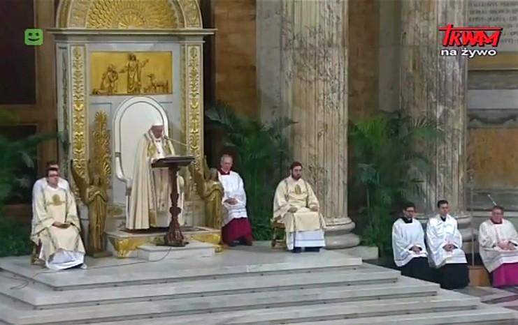 Homilia papieża Franciszka podczas Nieszporów z Uroczystości Nawrócenia św. Pawła - 25 stycznia 2018