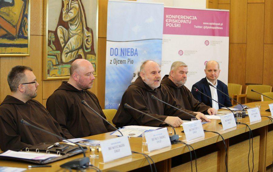 Do nieba z Ojcem Pio - obchody podwójnego jubileuszu św. Ojca Pio w roku 2018